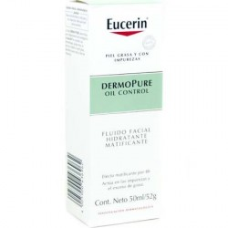 Eucerin DermoPure Fluido Hidratante Matificante 50 ml