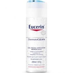 Desmaquillante Eucerin Dermatoclean Gel Limpiador Refrescante 200ml