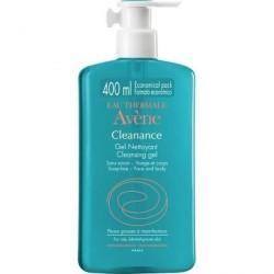 Avène Cleanance Gel Limpiador Sin Jabón 400 ml