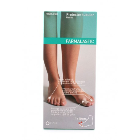 Farmalastic protector tubular dedos talla P