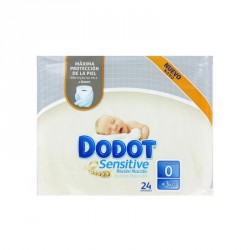 Pañal Dodot Protection Plus Sensitive 1.5-2.5Kg 24 uds T-0