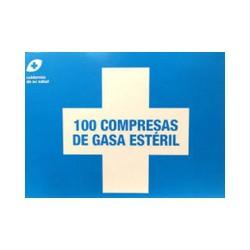 Compresas de Gasa Estéril 100 unid