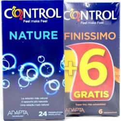 Control Nature 24 + 6 Finissimo Gratis