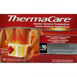 ThermaCare parches térmicos zona lumbar y cadera 4uds