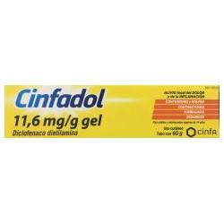 Cinfadol 11,6mg / g Gel 60gr