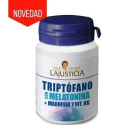 Ana María LaJusticia 60 Comprimidos Triptófano Con Melatonina, Magnesio Y Vit B6