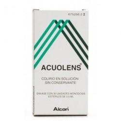 Acuolens 3 mg/ml + 5,5 mg/ml Colirio Solución 30 monodosis 0,5ml