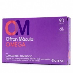 Oftan Macula Omega 90 Capsulas Esteve