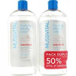 Mussvital Agua Micelar Piel Sensible 500ml + 500ml DUPLO