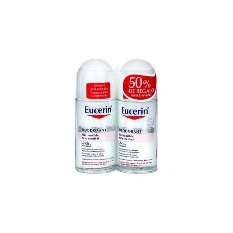 Eucerin Ph5 Desodorante Roll-on 50ml + 50 ml DUPLO PIEL SENSIBLE