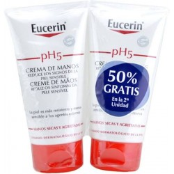 Eucerin pH5 Crema De Manos 75ml + 75 ml DUPLO