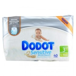Pañal Dodot Protection Plus Sensitive 5-10kg Talla 3