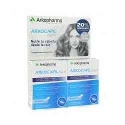 Arkocapil Advance Forte Vitalidad Capilar 60+60 capsulas PACK 2 MESES