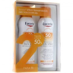 EUCERIN Spray Solar Transparente Dry Touch FPS 50+ 200ml + 200ml DUPLO