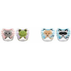 Chupetes Dr Browns Animal Faces 0-6m Silicona