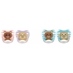 Chupetes Dr Browns Animal Faces 6-12m Silicona