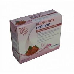 Suero oral normon fresa 250 ml 2 unidades