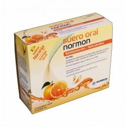 Suero oral normon Naranja 250 ml 2 unidades