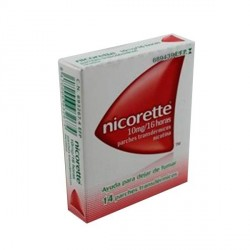 NICORETTE CLEAR 10 mg/16 HORAS PARCHES TRANSDERMICOS, 14 parches