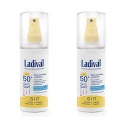 Ladival Solar Spray Piel Sensible o Alérgica SPF50 150ml 2 Uds