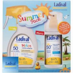 Ladival Summer Pack Niños Spray 200ml +Pieles sensibles Spray