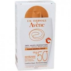 Avène Solar fluido mineral color SPF50+ 40ml