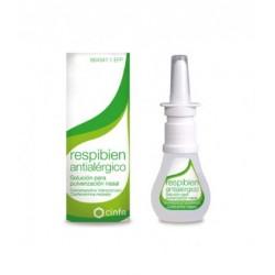 RESPIBIEN ANTIALERGICO SOLUCION PARA PULVERIZACION NASAL, 1 envase pulverizador de 15 ml