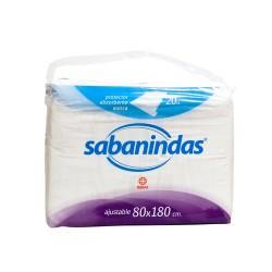 Sabanindas ajustable 80x180 20 und.