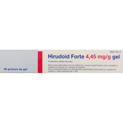HIRUDOID FORTE 4,45 mg/g GEL, 1 tubo de 60 g