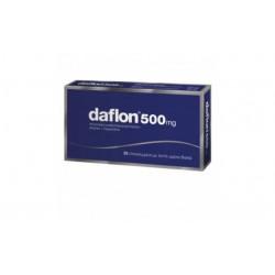 DAFLON 500 mg COMPRIMIDOS RECUBIERTOS , 30 comprimidos