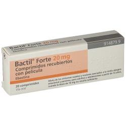 BACTIL FORTE 20 mg COMPRIMIDOS RECUBIERTOS CON PELICULA , 20 comprimidos