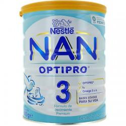 Nan Optipro 3 Leche Crecimiento 800 Gramos