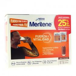 Meritene Chocolate 15 Sobres + 15 Sobres 25% 2ª Unidad