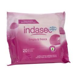 Indasec toallitas higiene intima 20 uds.