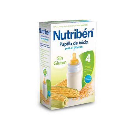 Nutriben Inicio Biberon Papilla Sin Gluten 300g