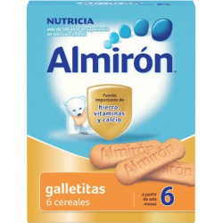 Galletitas 6 Cereales Almirón Advance 180 gr 6m+