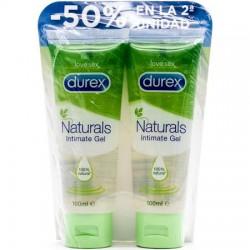 Durex naturals intimate gel 2x 100ml