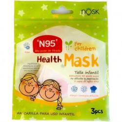 Nosk Mascarilla Infantil Talla-S 3uds
