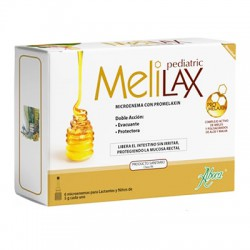 Melilax Pediatric 6 Microenemas de 5 gr Aboca
