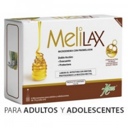 Melilax Adultos 6 Microenemas de 10 gr Aboca