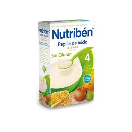 Nutriben Inicio A La Fruta Papilla Sin Gluten 300g