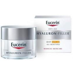 Eucerin Hyaluron-Filler Día FPS30 Todo Tipo de Piel, 50 ml
