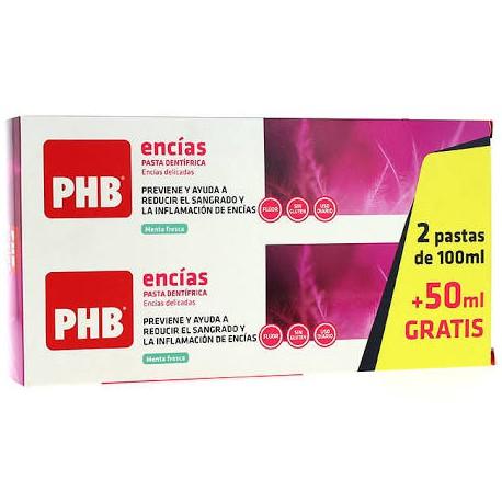 Phb Pasta Total dental 2x100Ml + 50ML Regalo!!!
