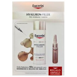Eucerin Hyaluron-Filler Crema de dia Piel Normal mixta 50ml + Ampolla Hyaluron-Filler REGALO!!