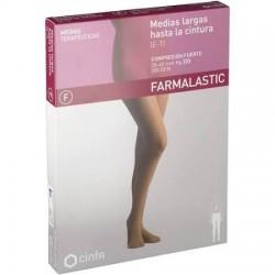 Panty Compresión Fuerte Farmalastic T-M Color Beige