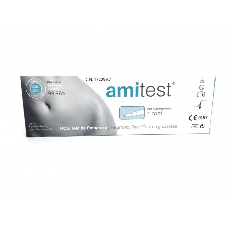 TEST DE EMBRAZO AMITEST 99,98% FIABLE
