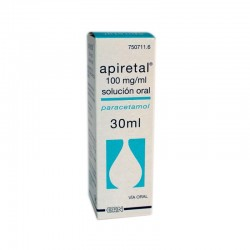 APIRETAL 100 mg/ml SOLUCION ORAL, 1 frasco de 30 ml