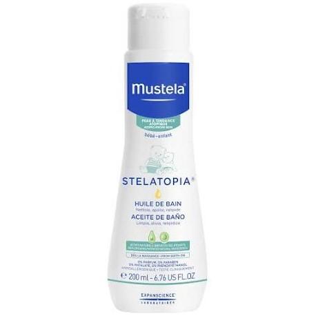 Mustela stelatopia  Aceite de baño 200ml piel atopic