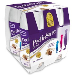 Pediasure drink chocolate 4x200 ml