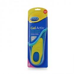 Dr scholl plantillas gel activ de uso diario mujer talla 35.5 a 40.5